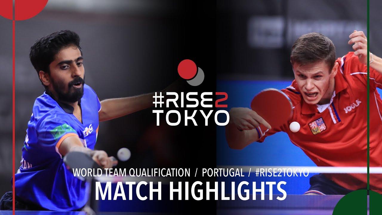 Download Gnanasekaran Sathiyan vs Tomas Polansky | 2020 World Team Qualification (1/4)