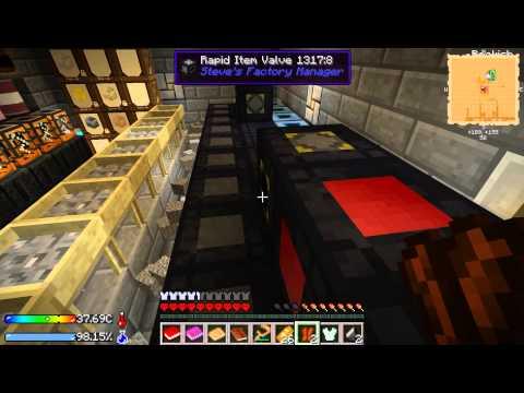 Minecraft server letsplay. CrashLanding  У Кселата на базе.