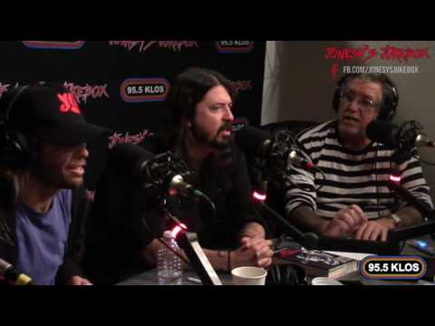 Foo Fighters In-studio on Jonesy's Jukebox