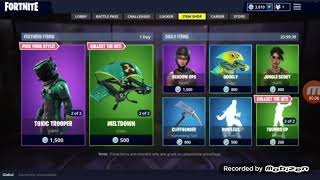 *NEW* Hazard Agent Skin!! Fortnite [May 18] Item Shop! NEW DAILY FEATURED ITEMS!