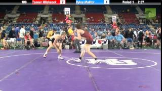 106 Tanner Hitchcock vs. Rylee Molitor