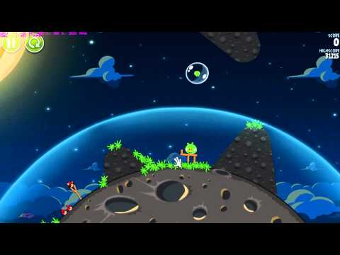Angry Birds Space 2012 gameplay
