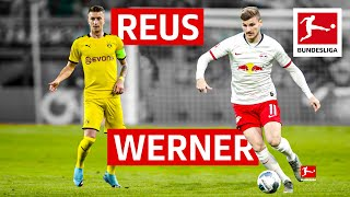 Two clinical goalscorers in top form go head-to-head► sub now: https://redirect.bundesliga.com/_bwcsmarco reus and timo werner are of the best goalscorer...
