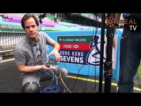4K 360 VR Live Broadcast  - A Case Study