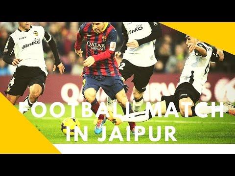 Football match in jaipur (win GVU) sport#10