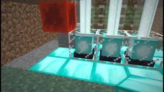 Как сделать Двери из лазера в Minecraft 1 6+(Всем привет, в этом видео я покажу как сделать двери из лазера, лазеры это мояк. В этом видео я немного заикал..., 2014-03-20T08:11:33.000Z)