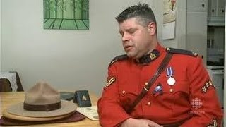 "Pot-smoking Mountie has uniform seized by RCMP "" Hats off Mountie for his Courage"""