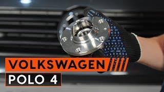 Hoe een achter wiellager op een VOLKSWAGEN POLO 4 vervangen HANDLEIDING | AUTODOC