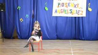 Weronika Młynarczyk 1 miejsce Konkurs piosenki angielskiej  Lenka The show (lat 7) - 2014-04-02
