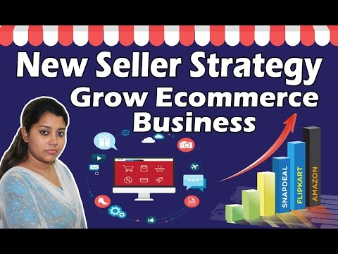 Seller Strategies to Build and Grow Successful Online Business on Flipkart Amazon Snapdeal
