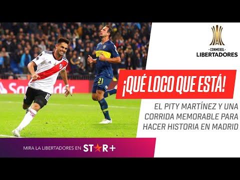 GOL Pity Martínez | River Plate - Boca Juniors | Final (VUELTA) | CONMEBOL Libertadores