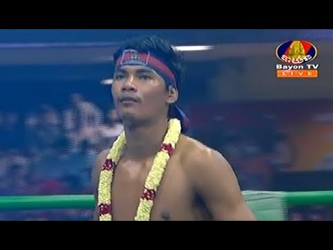 Lao Chetra vs Lekphetch(thai), Khmer Boxing Bayon 18 Feb 2018, Kun Khmer vs Muay Thai
