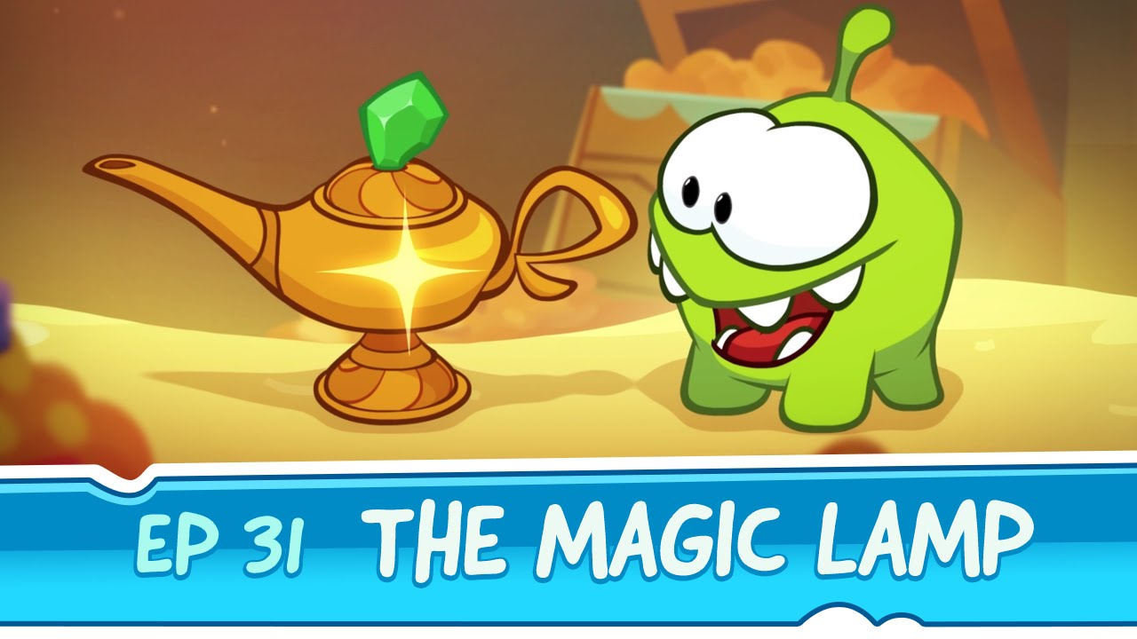 Om Nom Stories: The Magic Lamp (Episode 31, Cut The Rope: Magic)   YouTube