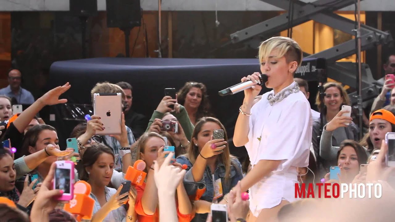 """Download Miley Cyrus """"We Can't Stop"""" Live On The Today Show"""
