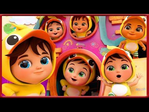 🔴-six-little-ducks-,-baby-shark-,-happy-birthday-song,-wheels-on-the-bus---banana-cartoon-[hd]