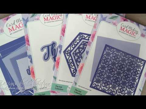 Card Making Magic -  Complete Card & Box 6x6 Collection