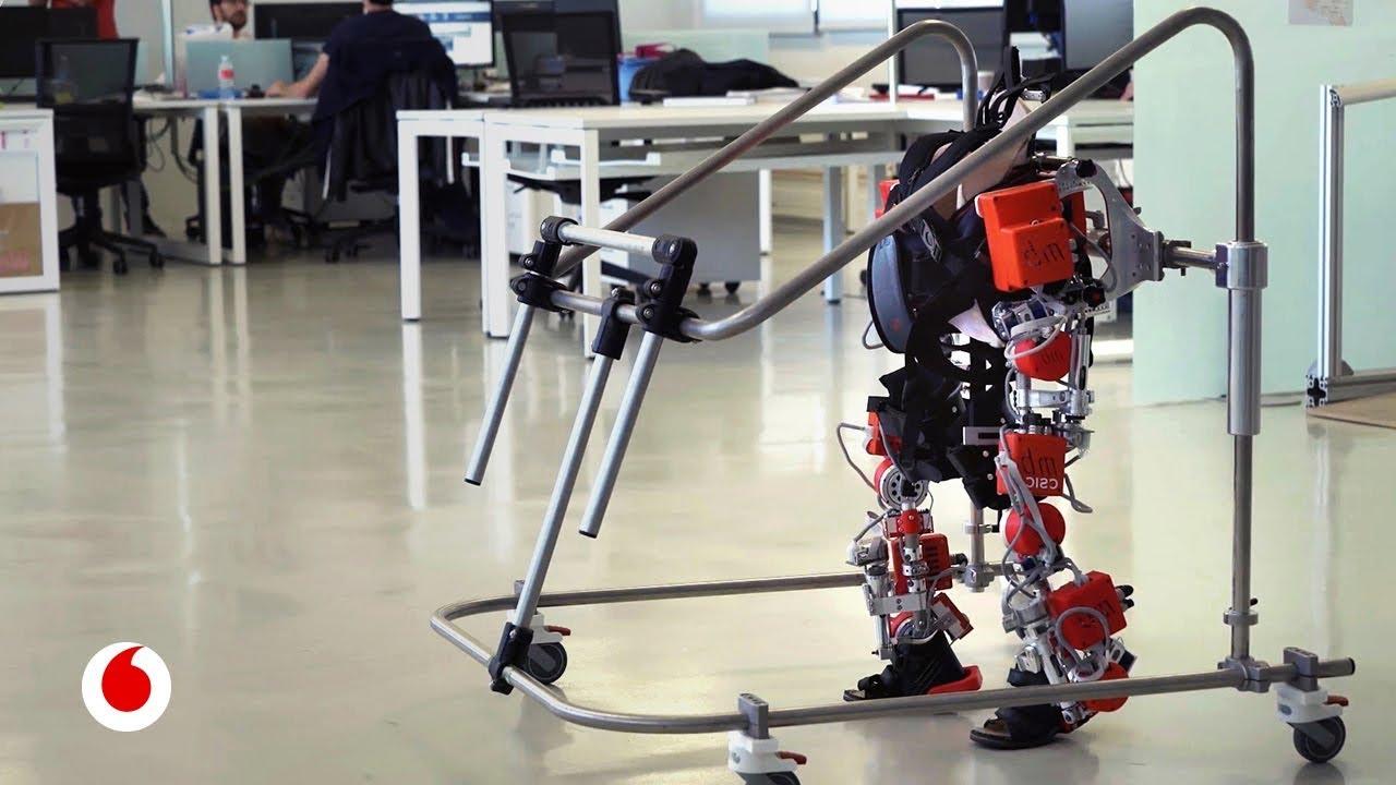 El primer exoesqueleto para niños, creado por una ingeniera española