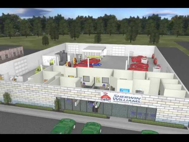 Auto Repair Shop Interior Design shop layout and design sherwin ...