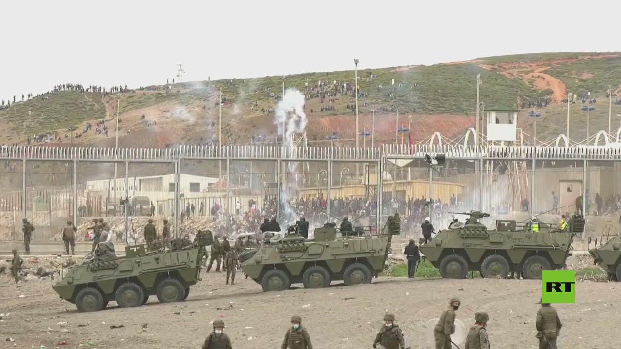 الجيش الإسباني يستخدم الغاز ضد المهاجرين في سبتة  - نشر قبل 2 ساعة