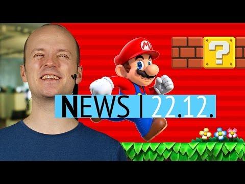 News: Super Mario Run 40 Millionen Mal installiert - Updates zu RimWorld, Prison Architect & Co.