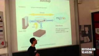 Grazer Linuxtage 2011: Home Server einrichten und konfigurieren