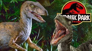 The Terrible Truth About Velociraptor Hunting On Isla Nublar - Michael Crichton's Jurassic Park