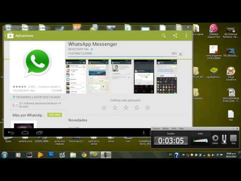 DESCARGAR E INSTALAR WHATSAPP,LINE,WECHAT PARA PC Y LAPTOP 2013