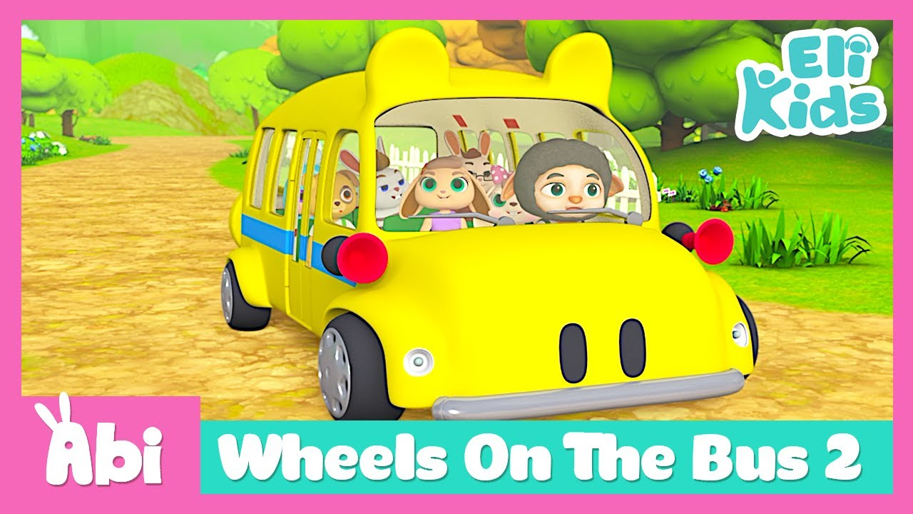 Wheels On The Bus 2 | Eli Kids Songs & Nursery Rhymes