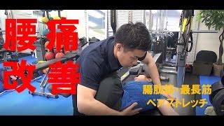 基礎から学べるスポーツペアストレッチ~腸肋筋・最長筋~