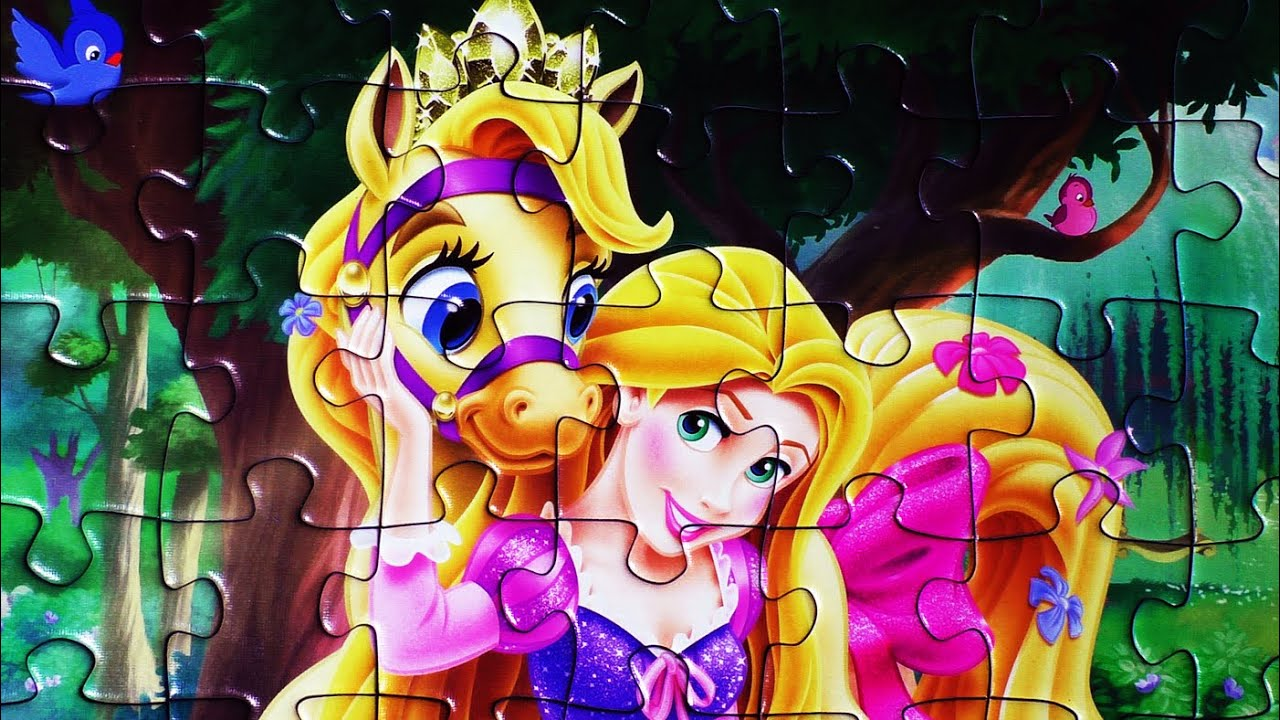disney princess jigsaw puzzle games ravensburger rompecabezas play kids toys learning activities de youtube - Disney Princess Games And Activities