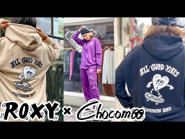 Chocomoo × ROXY コラボ商品【前編】