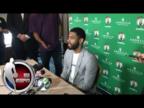[FULL] Kyrie Irving: 'Wouldn't make any sense' to sign extension w/Celtics this summer | NBA on ESPN