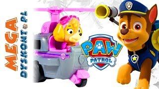 Psi Patrol • Flip & Fly • Kolekcja zabawek • Psiaki i ich pojazdy • openbox