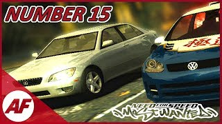 Need for Speed Most Wanted - Number 15 on a Blacklist Let