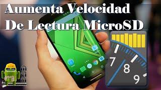 Acelera Tu Micro SD y Mejora El Rendimiento De Tu Telefono
