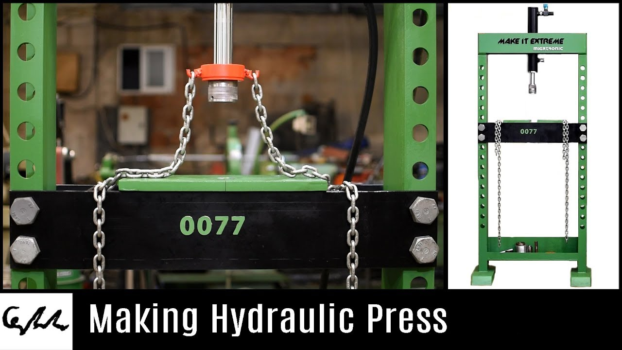 Hydraulic Press Machine Make It Extreme