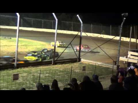 Doe Run Raceway Mini Stock Feature 7-31-15