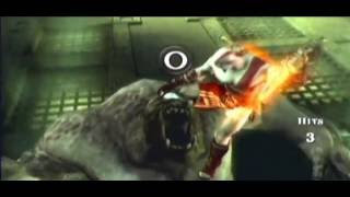 God Of War Chains Of Olympus (SPARTAN, HARDMODE) Direto do PSP part5