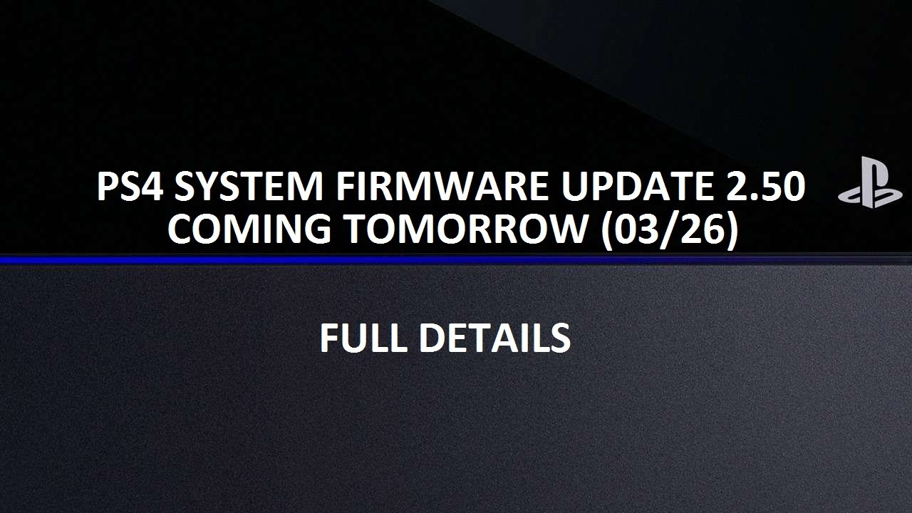 ps4 system update 2 50 releases tomorrow suspend resume