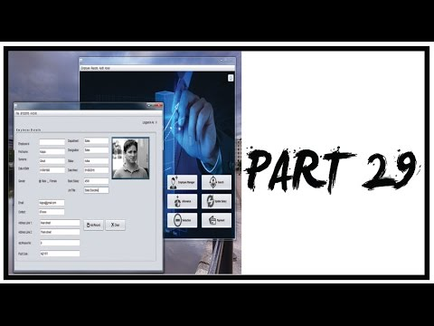 Employee Payroll Management System Using Java Netbeans-Part 29- Monitor Login/Logout (Audit Trail)