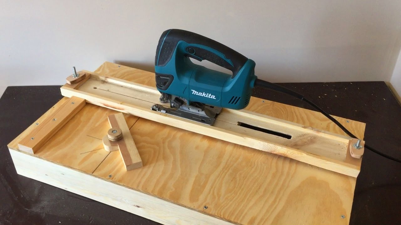 how to cut wood straight with table saw