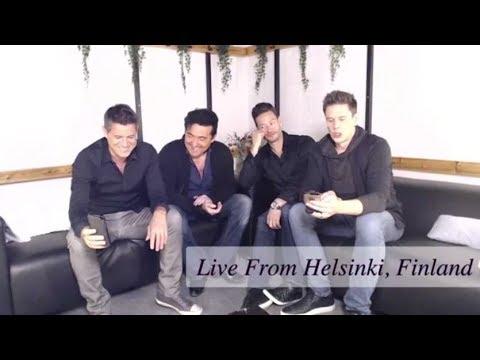 IL DIVO Live Chat Helsinki 30-10-2018