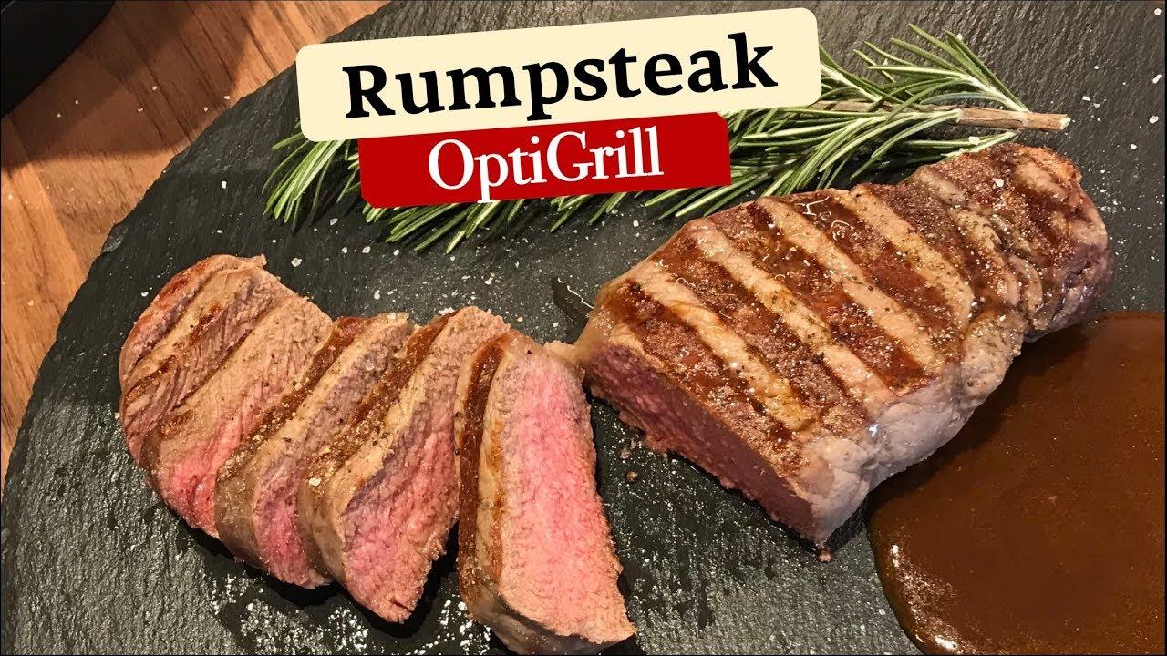 Perfektes Steak Dry Aged Rumpsteak Im Tefal Optigrill Youtube