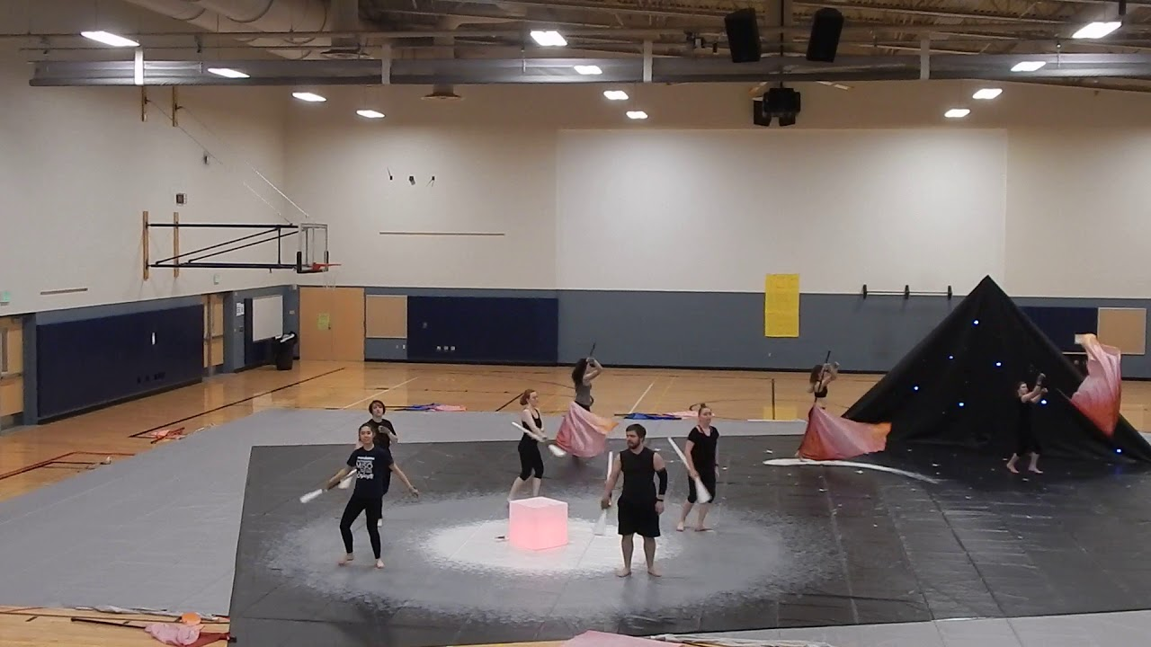 North Thurston Winterguard: Dance, flags and artistry champs
