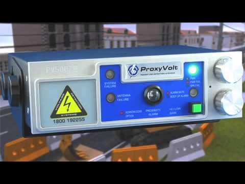Proxyvolt Powerline Warning System