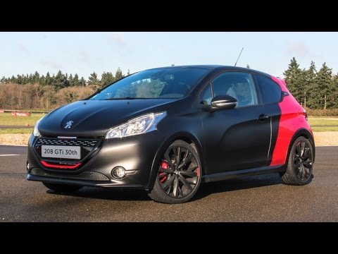 essai peugeot 208 gti 30th anniversary planete youtube. Black Bedroom Furniture Sets. Home Design Ideas