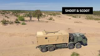 Introducing Patria Nemo Container - a heavy mortar system with high mobility