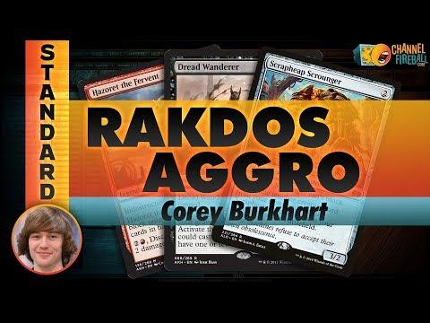 Channel Corey - Standard Rakdos Aggro (Deck Tech & Matches)