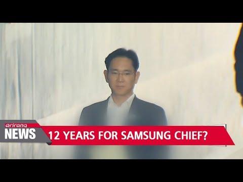 Prosecutors demand 12 years In prison for Samsung chief Lee Jae-yong