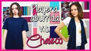 Video ¡¡Transforma una Camiseta en Chaleco en 5 min! - Playera Reciclada - Moda Bonita - Catwalk download MP3, 3GP, MP4, WEBM, AVI, FLV November 2017